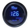 热销通用汽车仪表 改装赛车仪表2英寸52MM 数字蓝光显示电压表