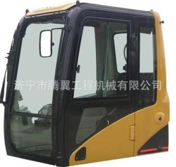 供应卡特325挖掘机驾驶室总成 济宁腾翼挖掘机配件批发零售