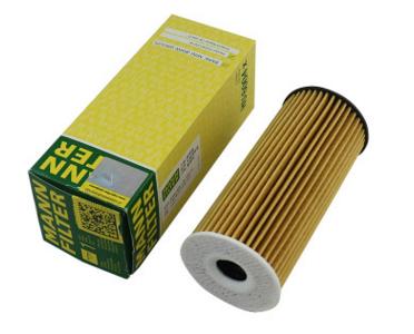 曼牌机油滤清器HU6004X适用于宝马X5 F15 30d 柴油版 机油滤芯