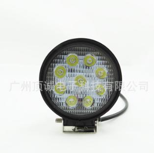 27W汽车led灯 LED汽车工作灯泡 越野汽车射灯
