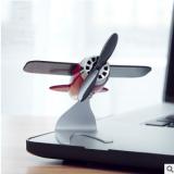 太阳能飞机模型摆件创意车载仿真飞机合金装饰品汽车内饰品