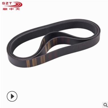 佛山厂家供应环形橡胶皮带 厂家直销耐磨多楔带 多沟带生产厂家