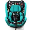 鸿贝儿童安全座椅 3C认证9个月12岁汽车座椅ISO硬接口座椅