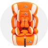 鸿贝安全座椅 ccc和欧盟双重认证 9个月-12岁适用 EJ系列供应 温馨桔