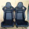 特价批发改装汽车座椅带调角器单滑道调节PVC发泡海绵赛车椅
