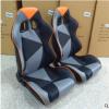 厂家直销汽车座椅改装带调角器单滑道前后可调节Pu座椅电竞椅