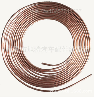 紫铜色邦迪管金属钢蚊香盘 盘装套装制动系统镀铜镀彩刹车管