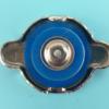 厂家现货0.9水箱盖加厚蓝硅胶 供应各类水箱盖汽车配件定制