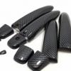 创缤 2015-19日产逍客拉手盖 ABS碳纤纹门把手 For Qashqai J11