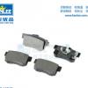 厂家直供D1086CRV/H6后刹车片/陶瓷 冠立后刹车片