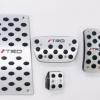 适用于丰田汉兰达凯美瑞油门踏板免打孔TRD改装标内饰防滑脚踏板