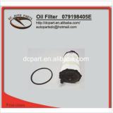 oil filter for AUDI VW 079198405E