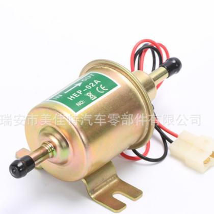 全铜HEP-02A电子燃油泵 汽车通用型 工厂直销