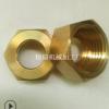 【低价】厂家加工直销六角铜螺母 铜接头 带耳螺母可来电咨询