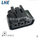 QLW-A-B3F-B 6.3系列 3孔黑色母端防水塑件 国产件汽车接插件