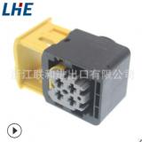 2-1418390-1 2.8 HDSCS系列 4孔灰色塑件 母护套 国产汽车连接器