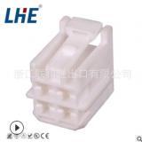 6098-1489 4.8系列 4孔白色护套 母胶壳 厂家汽车接插件