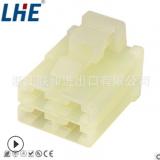 6070-4481 6.3系列 4孔护套 国产母塑件 厂家直销汽车插头