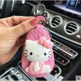 汽车钥匙包 卡通KT女款 适用大众现代本田奥迪奔驰别克车用钥匙包