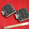 方形工程机械检修灯 作业灯散热后盖压铸加工 铝压铸