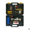 车载打气泵抽油泵汽车用便携式电动双缸12v车轮胎打气泵