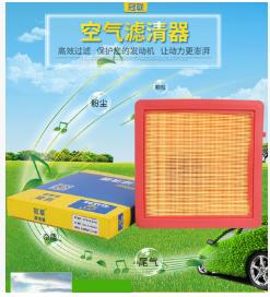 15款别克昂科威 1.5T 2.0T空气滤清器 车用空气清洁空气滤清器批