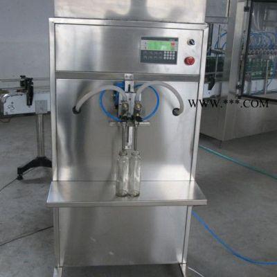 供应DCNY2008半自动两头防冻液、玻璃水自流灌装