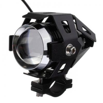 外贸爆款U5变形金刚摩托车射灯 改装led前大灯 雾灯