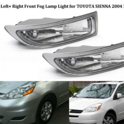 一对 2004-2005年 汽车前防雾灯 适用丰田 塞纳