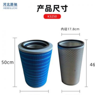 厂家供应空气滤清器 pu3250纳米空气滤芯 汽车空滤支持尺寸定制