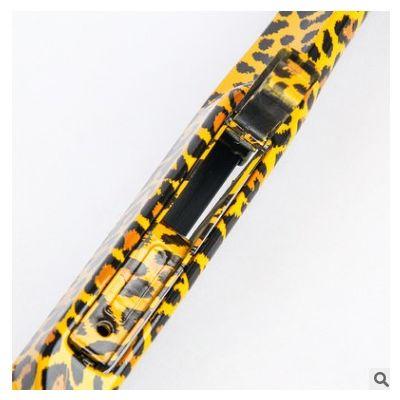 一件代发时尚豹纹无骨雨刷器 通用U型雨刮器 汽车无骨雨刮片批发