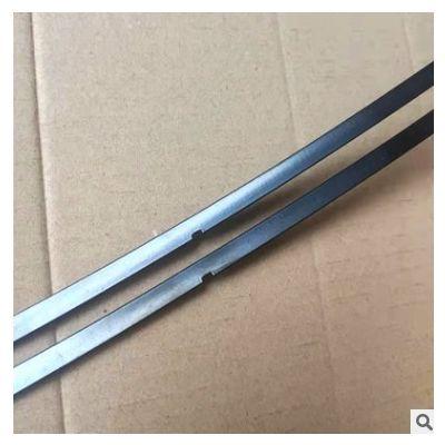 无骨雨刷圆孔钢片凯美瑞款三节半圆尖头锰钢雨刷钢片雨刮弹片供应