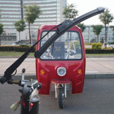 电动三轮车棚改装雨刮器汽机油摩托三轮车电动自动一套刮水器刷总