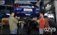 02:29 野马进口排气安装视频, 广州最新野马改美国冠军ARR可变阀门排气