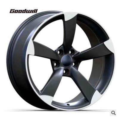 适用于奥迪系列锻造轮毂改装 轮毂尺寸17 18 19 20 21 22寸轮毂